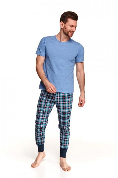 Пижама мужская со штанами 2519 SS21 GRZEGORZ