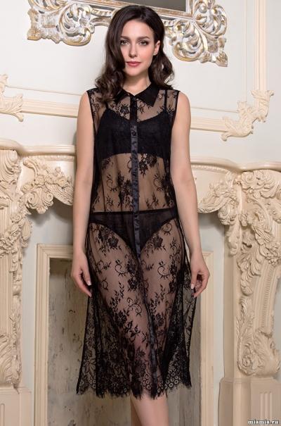 Халат -Рубашка Mia-Amore Шанель Fashion Chanell  Fashion 2128