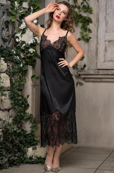 Сорочка Mia-Amorе Афродита Afrodita 2168 черный