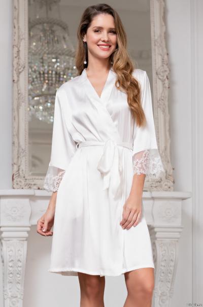 Халат Mia-Amore  Белый Лебедь White Swan 3553