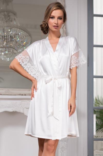 Халат Mia-Amore  Белый Лебедь White Swan 3557