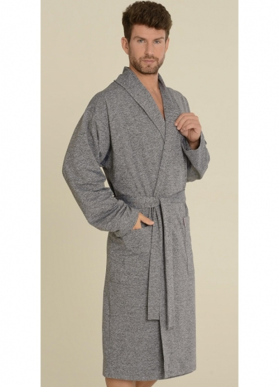 Мужской халат трикотажный 537 LEONARDO, DELAFENSE