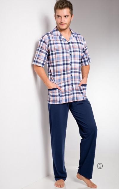 Мужская пижама с брюками 921/954 GRACJAN BEG, TARO