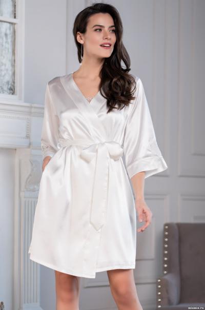 Короткий халат-кимоно Mia Amore Орнелла 8573