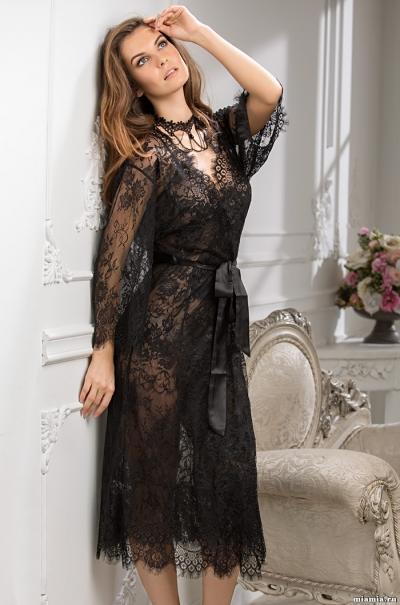 Длинный халат Шанель Mia-Amore 2033