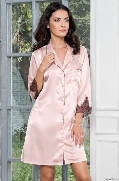 Халат-рубашка Mia-Amore Marilin Мэрилин 3107