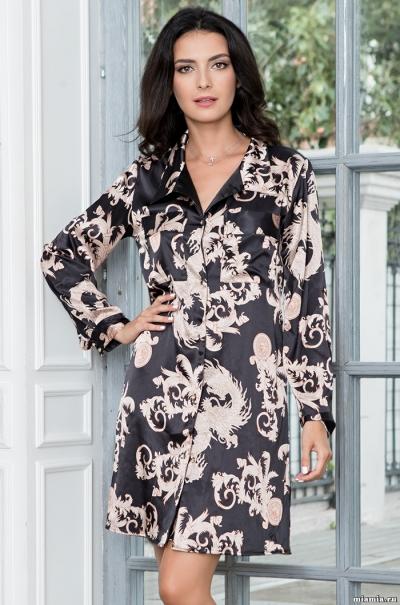 Платье-рубашка Mia-Mella Версаче Голд Versachi Gold 9937